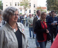 Demonstration für das Theater (04.09.2006 - NDH)
