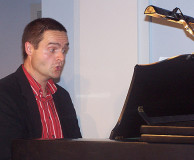 "Montags im Foyer – am 18. September 2006, Friedemann Schulz singend am Klavier ""Ich bin ein Tenor"""